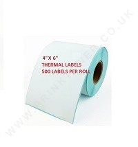 thermal label 4 x 6