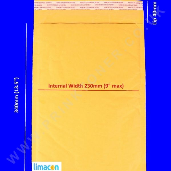 Padded Envelopes 250 x 340mm
