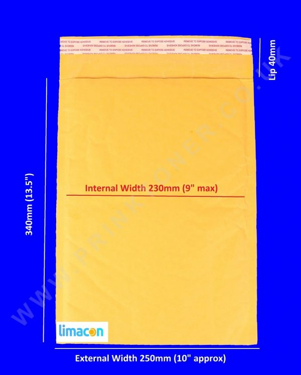 Padded Envelopes 250 x 340mm
