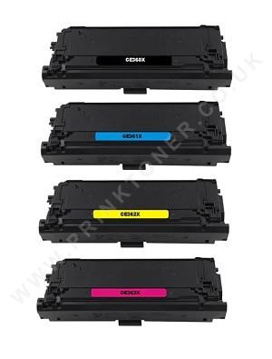 HP 508X (CF360X / CF361X / CF362X / CF363X)