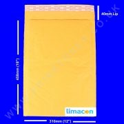 padded envelopes 310 x 458mm